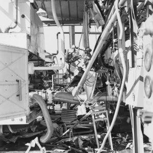 Debris in the Pilot Plant