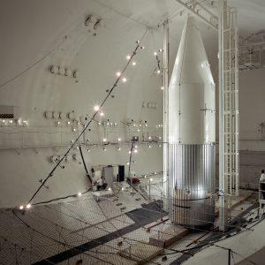 OAO-1 shroud setup inside SPC No. 2.