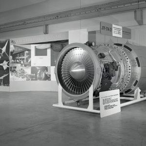Large jet engine.