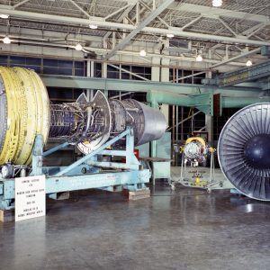 Aircraft engines.