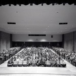Group in auditorium.