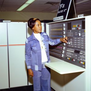 Easley with computers.