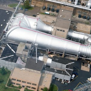Aerial View of Repainted Altitude Wind Tunnel.