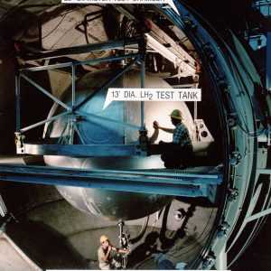 Cryoshroud Around Test Article in the K Site Chamber