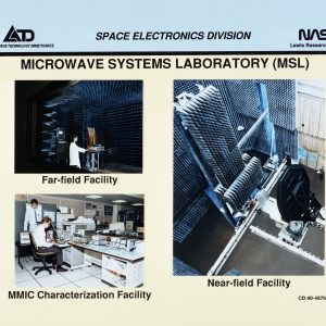 Chart showing the three test areas at the MSL.
