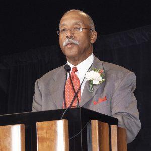 Earls at podium.