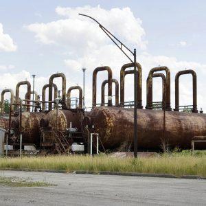 Rusting steam accumulators