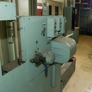 Main Hatch Controls for the PSL No. 2 test chamber inside the Shop and Access Building.