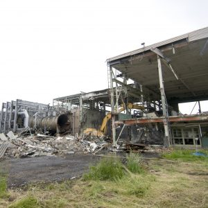 Demolition of the Propulsion Systems Lab No. 1 and 2