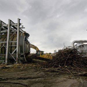 PSL demolition.