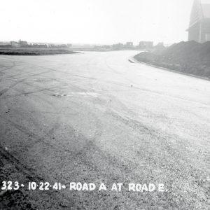 Hangar and grandstand.