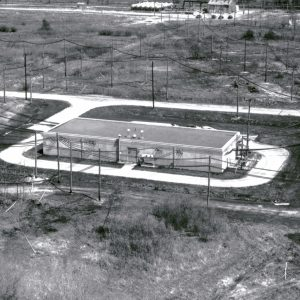Aerial view of H Control