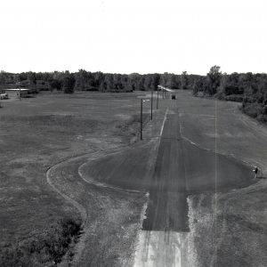 Paved test track at Plum Brook