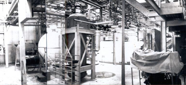 Equipment inside F Site