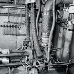 Air brake equipment inside the Pilot Plant