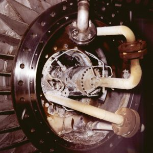 Close-up of Damaged Pratt & Whitney fluorine pump