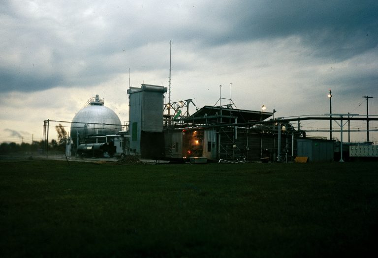 Ground-level Exterior view of J Site