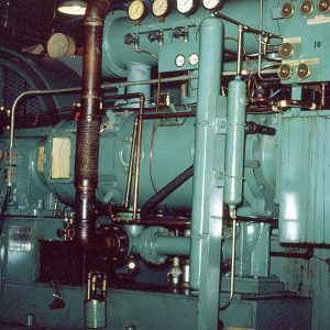 Compressors at Gas Handling Area
