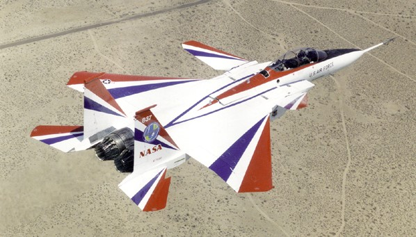 Picture of NASA Flight Test Aircraft