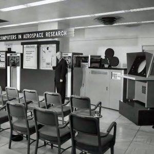 Computers exhibit.