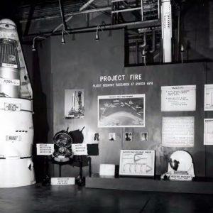 Rocket display.