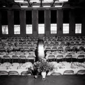 Empty cafeteria.