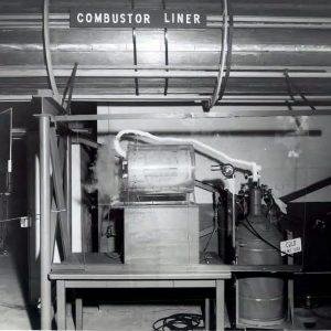 Combuster liner demonstration.