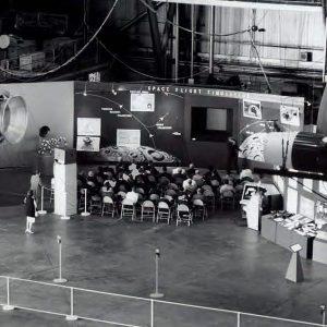 Hangar exhibit.