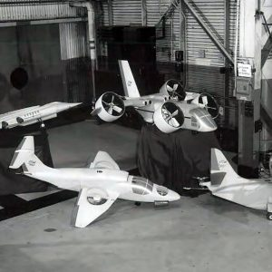 Aircraft models.