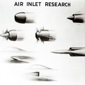 Illustration of engine inlets.