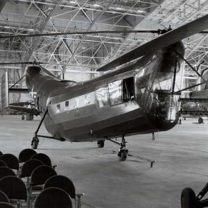 Helicopter Research in Hangar