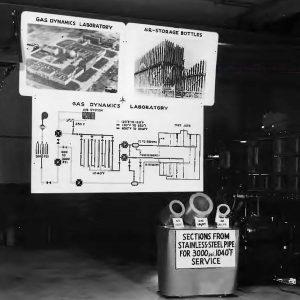 Gas Dynamics Lab Display