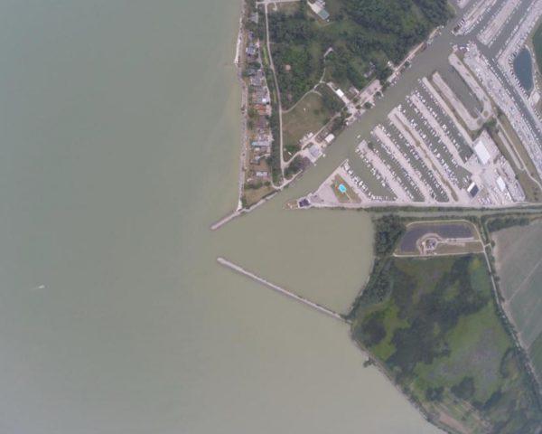 Lake Erie western basin July 25, 2014