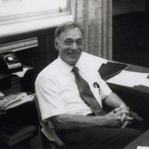 Pinkel in office.