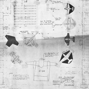 Hangar floor plan.