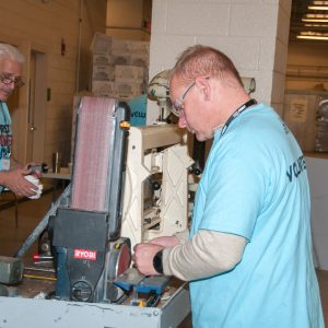 Our expert machine shop personnel can fix robot components