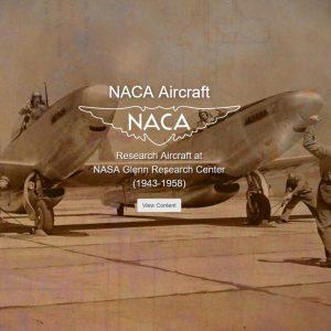 NACA Aircraft at Glenn