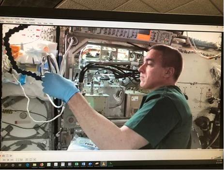 PBRE Installation on ISS