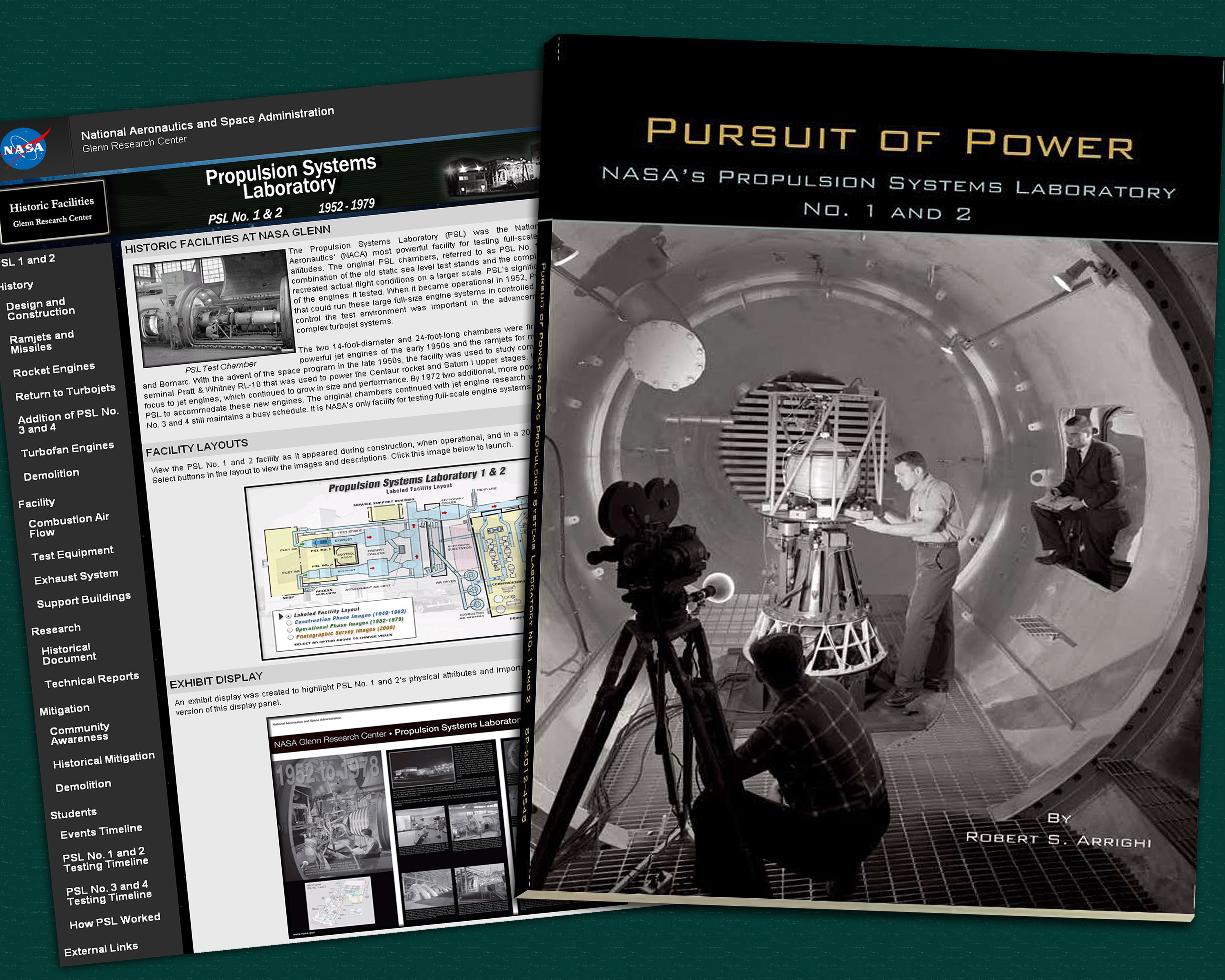 ... Propulsion Systems Lab No. 1 and 2 (2009). Covers of PSL historical  publications
