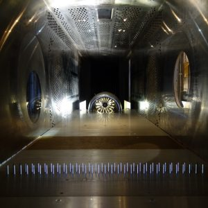 Boundary Layer Ingesting Inlet / Distortion Tolerant Fan Test in the 8- by 6-Foot Supersonic Wind Tunnel (8×6).