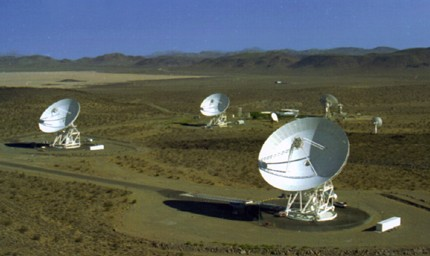Picture of Dish Antennas for Communications and Radar
