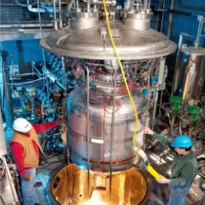 Installation of Test Article into SMiRF Vacuum Chamber.