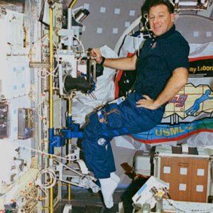 STDCE-2 Astronaut Albert Sacco on STS-73