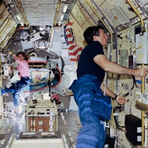 STDCE-2 Astronaut Fred Leslie on STS-73