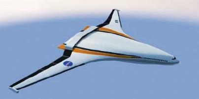 NASA N3-X Turboelectric aircraft