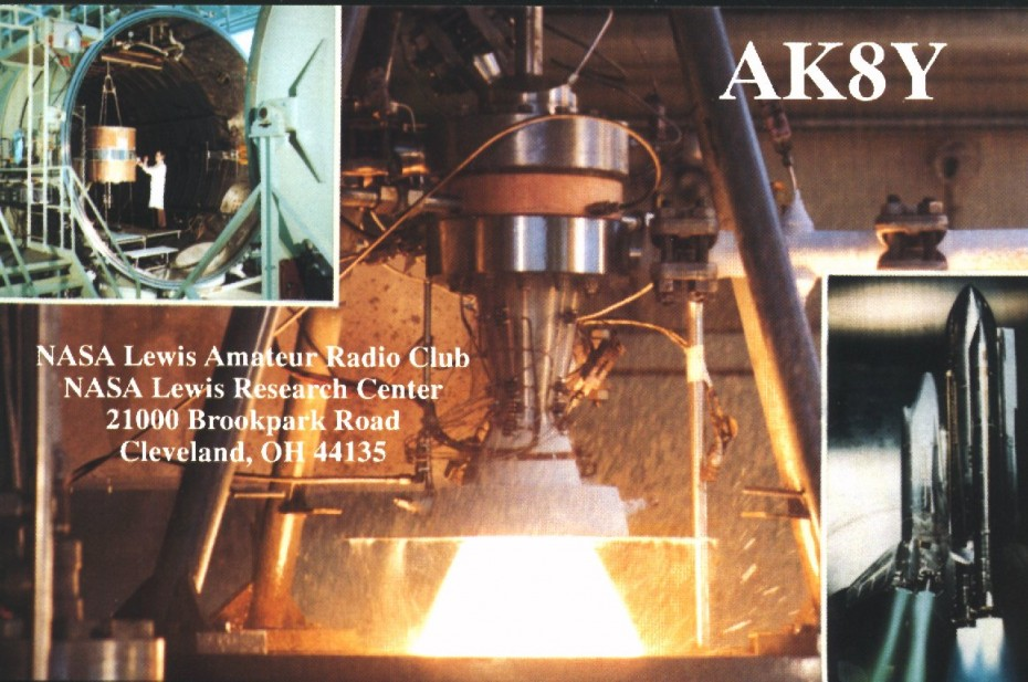 Prior to 1999, the callsign for the NASA Lewis Amateur Radio club was AK8Y.