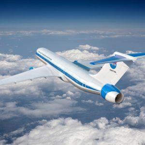 Single Aisle Transport Plane concept art.